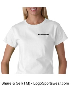 womans gearhead t-shirt Design Zoom